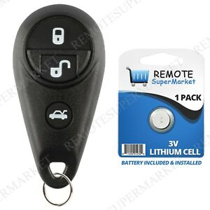 Replacement For Subaru 06 07 B9 Tribeca Outback 05 07 Legacy Remote Car Key Fob