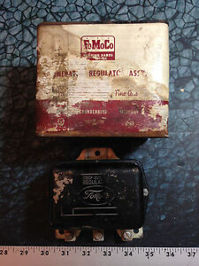 Nos Fomoco Gen Regulator Assy Ford Thunderbird Mercury Lincoln Edsel 10505a 4