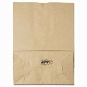 Gen Brown Paper Bag 75 lb Capacity 12 X 7 X 17 400 Bags bag Sk1675