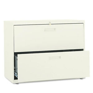 Hon Hon582ll 500 Series Two drawer Lateral File 36w X 19 1 4d X 28 3 8h Putty