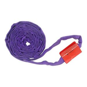 20ft Endless Purple Round Sling 3000lb Vertical