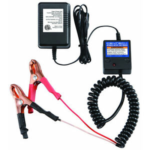 12 Volt Automatic Car Battery Float Trickle Charger Tender Boat Atv Motorcycle