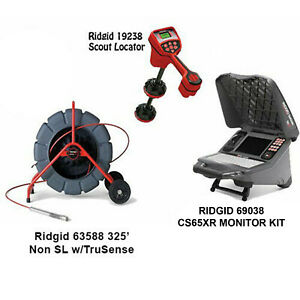 Ridgid 325 Color Reel 14058 Navitrack Scout Locate 19238 Cs65x Wifi 48133