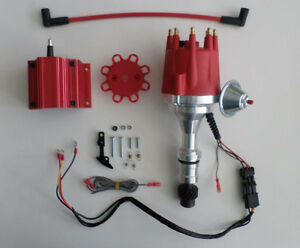 Small Cap Oldsmobile 330 350 400 403 455 Pro Series Red Hei Distributor Coil