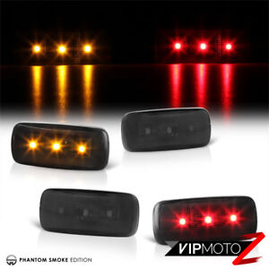 10 11 12 13 14 Dodge Ram Dually Cab Bed Smoke Fender Led Lamp Side Marker Lights