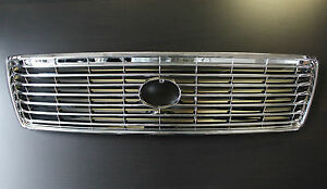 Lexus Ls400 1995 1996 1997 High Quality All Chrome Replacemet Grill Grille 95 97