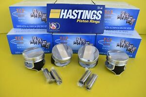 Ycp 75mm P29 Pistons Coated High Dome Compression Honda Civic Crx D16 Sohc