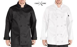 Chef Code Executive Chef Coat 100 Cotton With 10 Buttons Chef Uniform Cc119