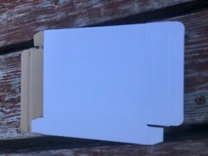 200 1 Thick 5 3 4 x 5 Corrugated Cd Case Cardboard Mailer Box Sf002t