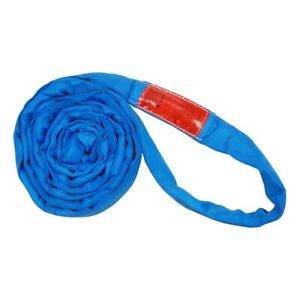 20ft Endless Blue Round Sling 23000lb Vertical