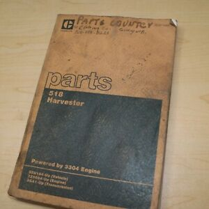 Cat Caterpillar 518 Grapple Skidder Parts Manual Book Log Loader 1986 Spare List