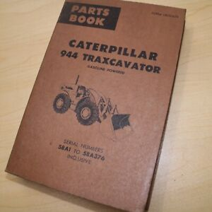 Cat Caterpillar 944 Wheel Loader Parts Manual Catalog Book Front End Spare List