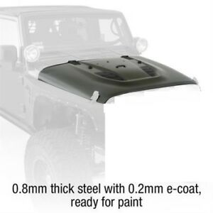 2007 2018 Jeep Wrangler Unlimited Smittybilt Src Stingray Vented Hood 76400