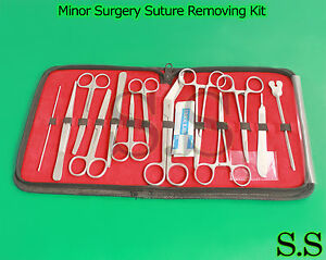 Dissection Suture Removing Kit Surgical Minor Surgery Kit