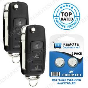 Replacement For Volkswagen Vw 02 09 Beetle 02 05 Golf Remote Car Key Fob Pair