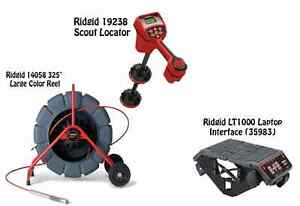 Ridgid 325 Color Reel 14058 Navitrack Scout Locator 19238 Lt1000 35983
