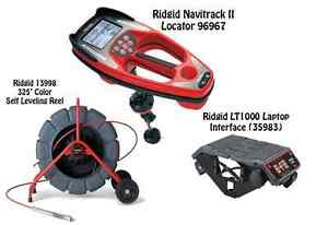 Ridgid 325 Color Sl Reel 13998 Navitrack Ii Locator 96967 Lt1000 35983