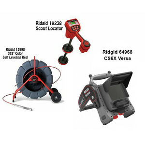 Ridgid 325 Color Sl Reel 13998 Navitrack Scout Locator 19238 Minipak 32748