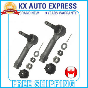 2x Front Outer Tie Rod End For Pontiac Grand Prix Gtp 1998 2000 2001