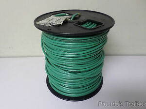 Cerrowire Green 10 Awg Thhn Gas oil Resistant Stranded Wire Green 600v 450