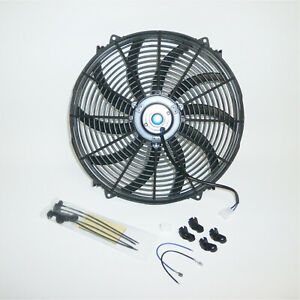 16 Heavy Duty Radiator Electric Fan 3000 Cfm Brand New Reversible Sbc Bbc