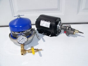150 Gph Oil Centrifuge Motor Package For Wvo Oil And Biodiesel