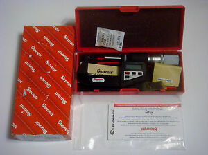 Starrett 733xflz 2 Lcd Outside Micrometer Friction Thimble Lock Nut Carbide