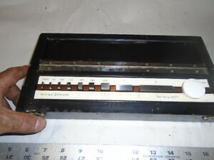 Machinist Tools Lathe Mill Machinist Gage Block Set In Case Made In Germany