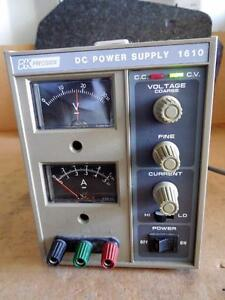 Bk Precision Dynascan Model 1610 Dc Power Supply 120 v 50 60 Hz 60w Ships Today