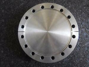 Varian High Vacuum Research Chamber 6 Flange Cover Top Blank
