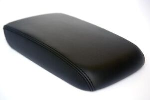Center Console Armrest Leather Synthetic Cover For Volkswagen Passat 11 18 Black