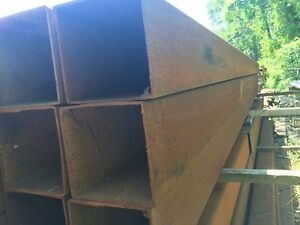 Steel Tubing 12 X 12 X 25 X 28 Long 12 Square Steel Tubing