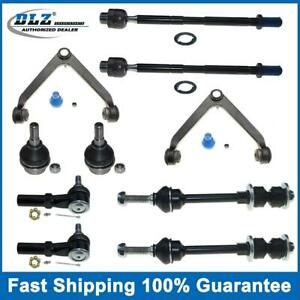 For 2002 2005 Dodge Ram 1500 2wd Set 10pc Kit Upper Control Arm Lower Ball Joint