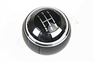 Genuine Mini Cooper R50 R52 Cabrio R53 Manual 5 Gear Shift Knob Leather Chrome