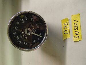 Mgb Smiths Sn 5227 Speeometer Great Condition
