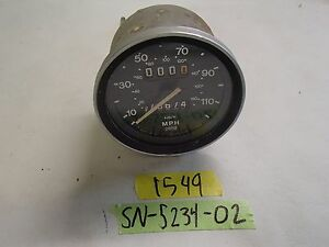 Smiths Mg Midget Gauge Sn 5226 09a Good Condition