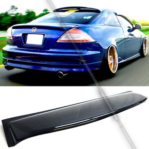 Fit 03 07 Accord 2dr Coupe Rear Window Roof Sun Rain Shade Vent Visor Spoiler