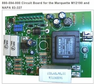 Solar century 880 594 000 Circuit Board For The Marquette M12190 And Napa 83 327