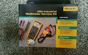 Fluke 289 imsk Industrial Multimeter Service Kit W I400 Amp Clamp Brand New