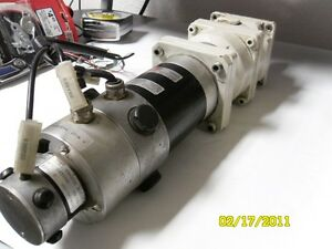 Alpha Gear Box Drive With Motor Complete Unit Cnc