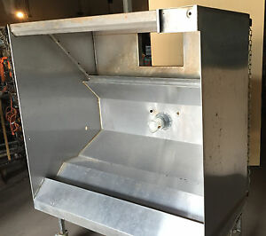 4 Exhaust Hood Restaurant Commercial Stainless Return Air hd3010