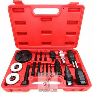 18pc A c Compressor Clutch Hub Remover Kit Gm Ford Chrysler Sanden Dks Puller