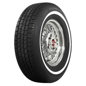 American Classic Whitewall Radial P215 75r14 98s 1 Ww quantity Of 1