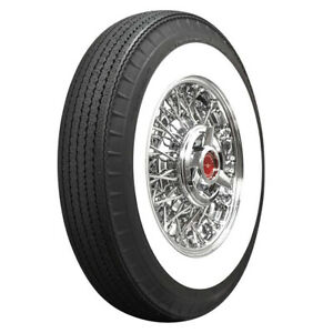 American Classic Whitewall Radial Bias Look 750r14 94s 2 1 4 Ww Qty Of 1