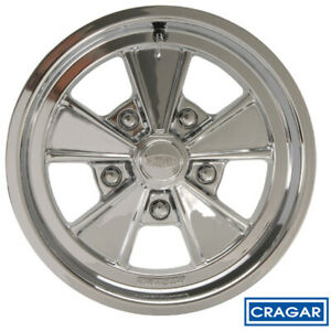 Cragar 500p Eliminator Polished 17x7 5x5 6 Quantity Of 1