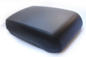 Console Armrest Leather Synthetic Cover For Jeep Grand Cherokee 93 98 Black