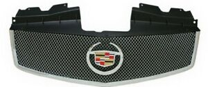 Cadillac Cts 2003 2007 Chrome Abs Mesh Style Replacement Grille With Emblem