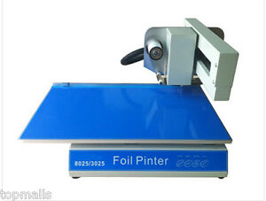 3025 Digital Printer Foil Printer For Book Cover Menu Calendar Nonwoven Bags
