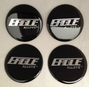 Set Of 4 New Eagle Alloys Wheel Rim Center Cap Sticker Decal 71mm Or 2 80 Dia