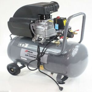 New Air Compressor Portable 3 5 Hp Motor 125 Psi 10 Gallon With Steel Tank